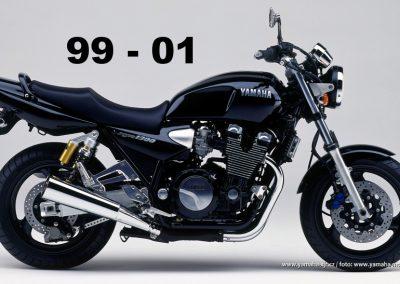 Technická specifikace Yamaha XJR 1300 99-01