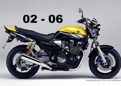 Technická specifikace Yamaha XJR 1300 02-06