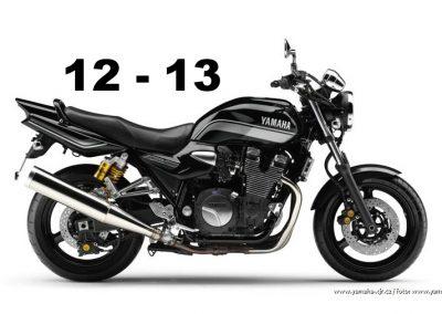 Technická specifikace Yamaha XJR 1300 12-13