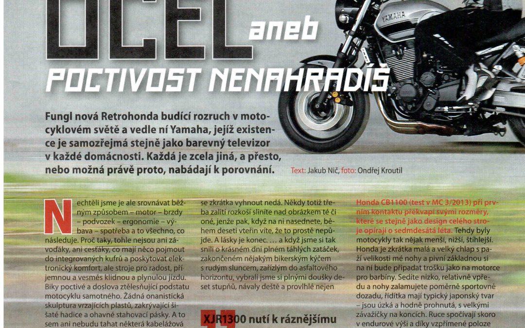 Testy Yamaha XJR 1300