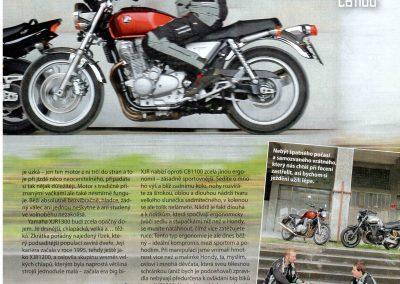 Motocykl test 2