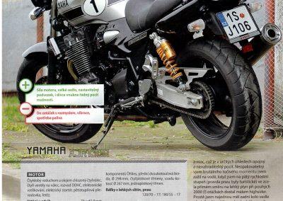 Motocykl test 3