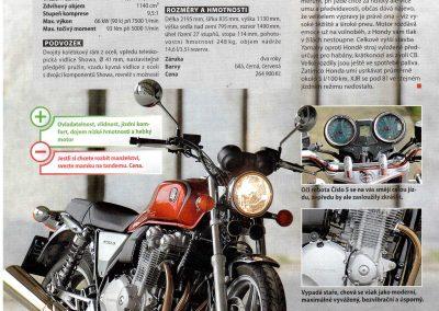 Motocykl test 5