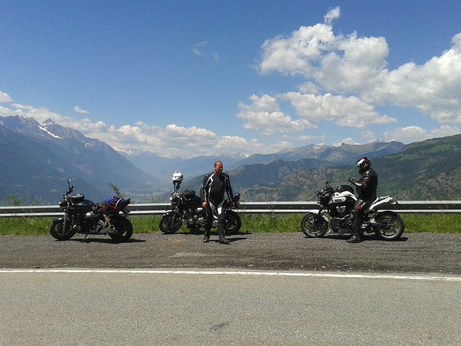 Sraz MT-01 Europe v italské Aostě