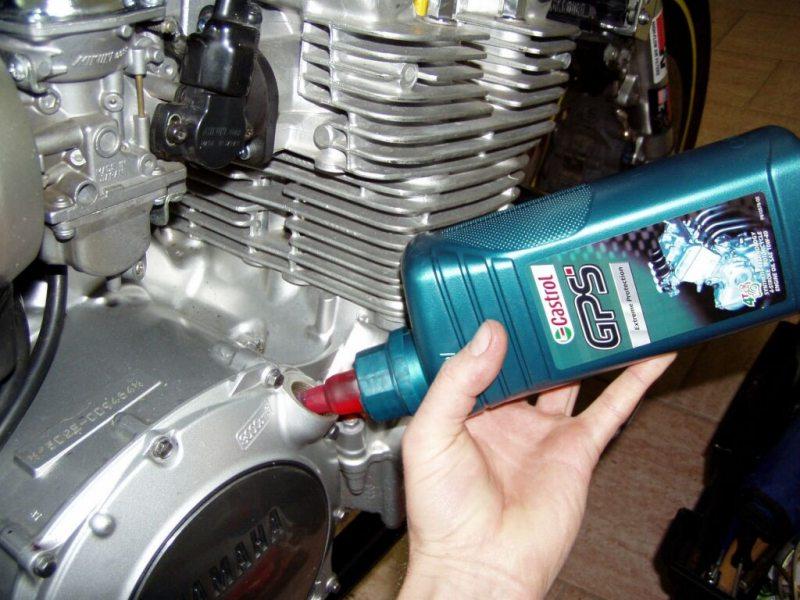 Výměna motorového oleje