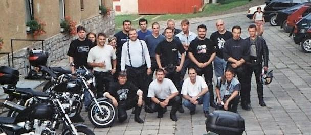 1. sraz XJR v Budíně u Sázavy
