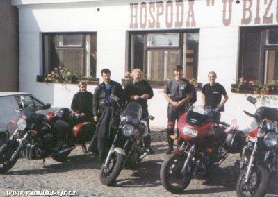 4. sraz XJR - Café Brno